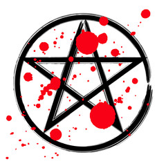 Pentagram occult symbol