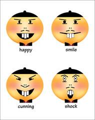 Emoji - facial expression