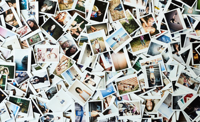 Heap of  images with friends having holiday