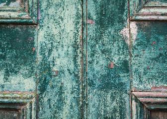 colorful vintage door texture