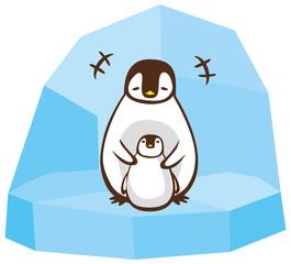 ペンギン 親子