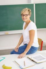 moderne lehrerin im unterricht
