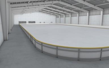 屋内アイススケート場