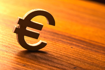 Symbol of euro money