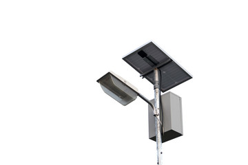 Solar cell power lamp