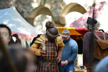 medieval market Ronneburg, Germany