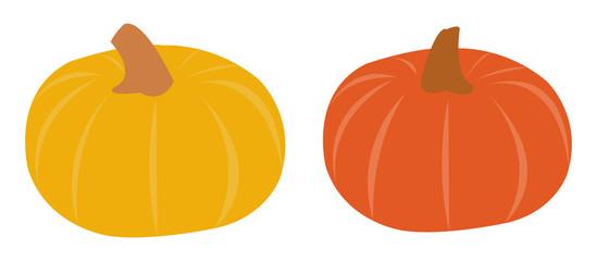 Pumpkin icon vectors
