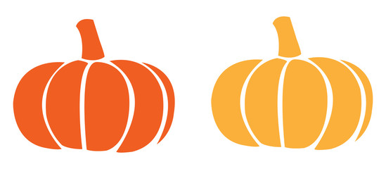 Pumpkin icon vectors