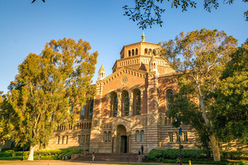 UCLA Royce Hall and Powell Library