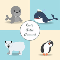 cute Artic animal