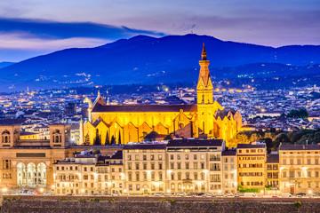 Fotomurales - Florence, Tuscany, Italy - Santa Croce