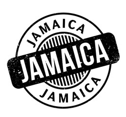Jamaica rubber stamp. Grunge design with dust scratches. Effects can be easily removed for a clean, crisp look. Color is easily changed.