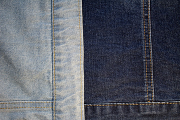 Denim texture of fabric