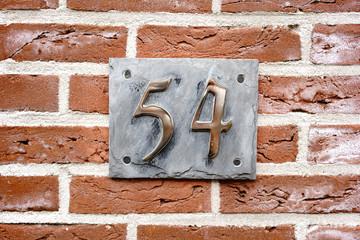 Number 54