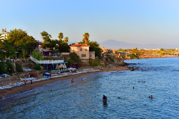 One of the Turkey's best beach town Side, in a beautiful city of Antalya.
