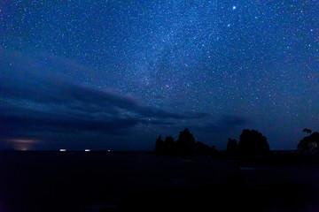 蓑掛岩、南伊豆町の夕景、景勝地
