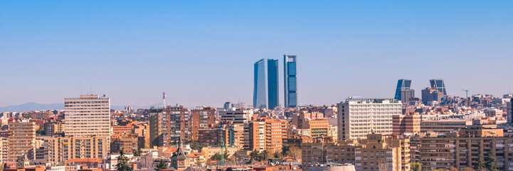 Madrid, Skyline