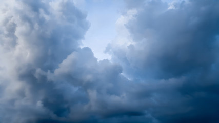 blue sky cloud fresh day