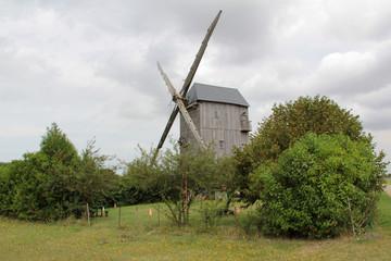 Foto auf AluDibond Mühlen vieux moulin à vent