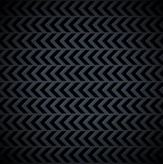 Dark Arrows Pattern Vector Metal Sheet