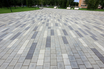 pavers in the Park