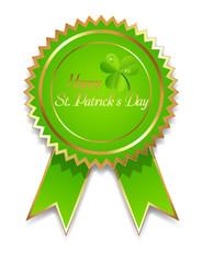 St. Patrick�s Day Badge Vector