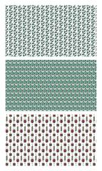 Various seamless natural patterns / Vector set of various seamless natural patterns