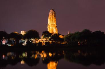 アユタヤ夜景