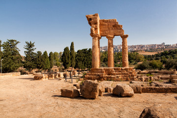 Sicily Agrigento Temple valley