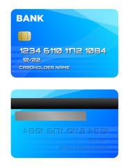 Credit card two sides