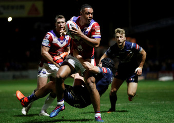 Super League - Wakefield Trinity vs St Helens - Super 8's