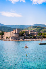 Le Château Royal et le port de Collioure