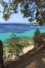 Obraz Chorwacja, Wyspa Brac, Bol - fototapety do salonu
