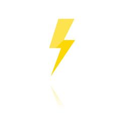 farbiges Symbol - Blitz