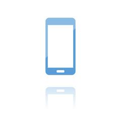 farbiges Symbol - Smartphone