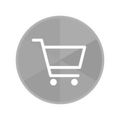 Kreis Icon - Einkaufswagen