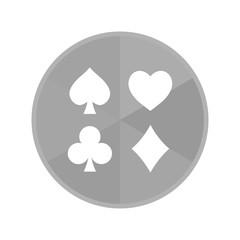 Kreis Icon - Spielkarten-Symbole