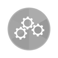 Kreis Icon - Zahnräder horizontal