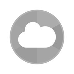 Kreis Icon - Wolke