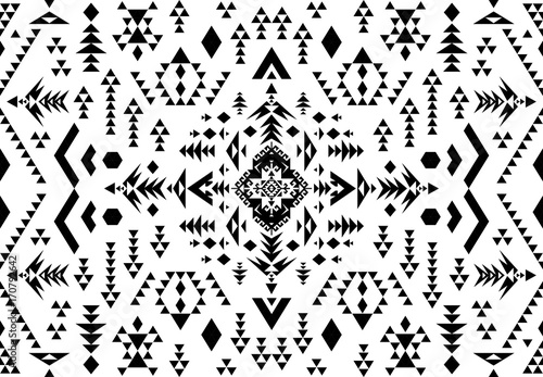 picture relating to Native American Designs Printable referred to as Ethnic practice layout. Seamless practice. Navajo geometric