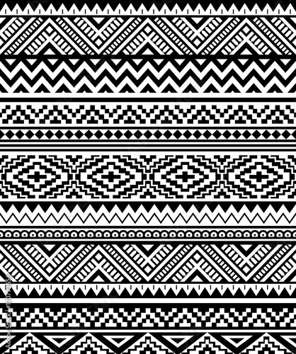 photograph about Native American Designs Printable called Ethnic habit design and style. Seamless habit. Navajo geometric