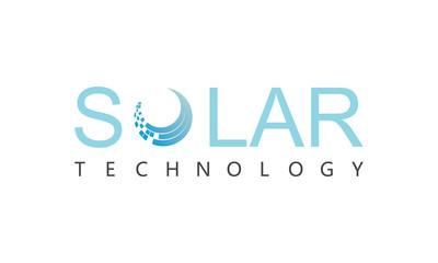 Solar technology logo
