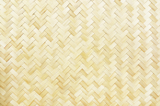 woven bamboo texture for pattern and background