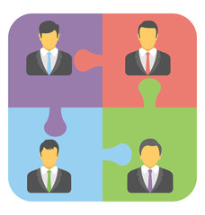 Business People Vector Icon