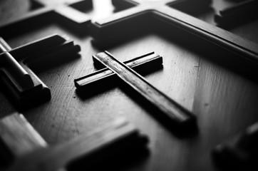 Cross sign in christian