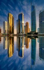 Dubai marina skyline, Dubai, United Arab Emirates