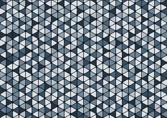 abstract blue triangle pattern background wallpaper, for presentation and report, smart modern and beautiful.