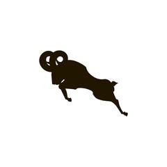 A ram emblem.