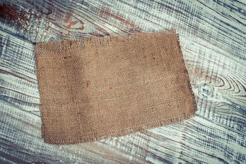 Brown fabric bag