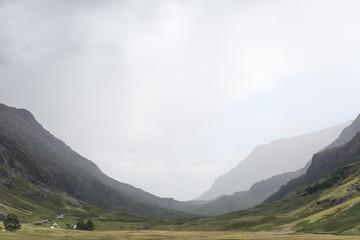 A valley in Glen Coe, Scotland